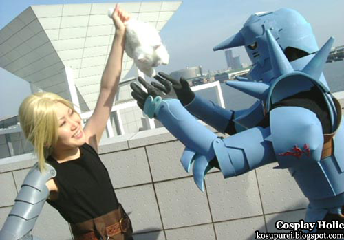 "full metal alchemist cosplay - edward ""ed"" and alphonse ""al"" elric"