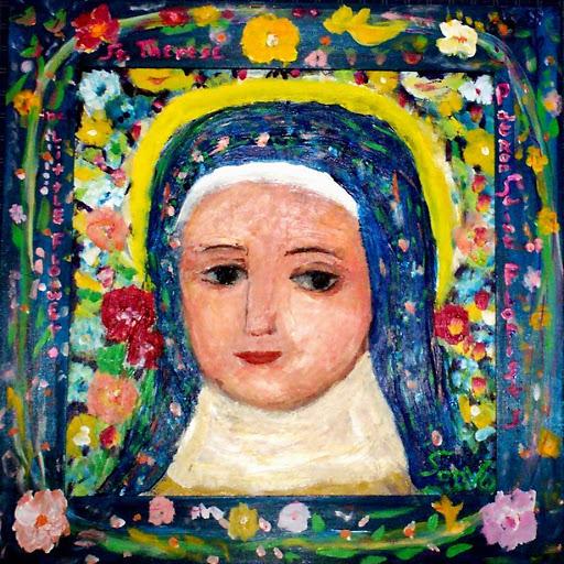 Saint Therese, by Sonya Gonzalez