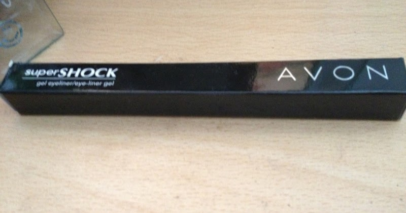 Without The Appearance Of Liner: Avon Hero Products: Avon Supershock Gel Eyeliner In Black