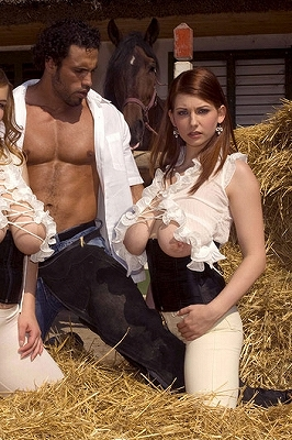Christy Marks_Stacked Sluts in A Stable_1