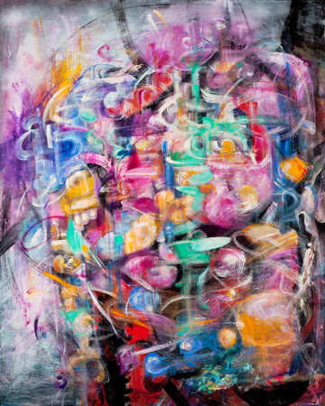 Kathleen VanHyfte—Oil/Acrylic