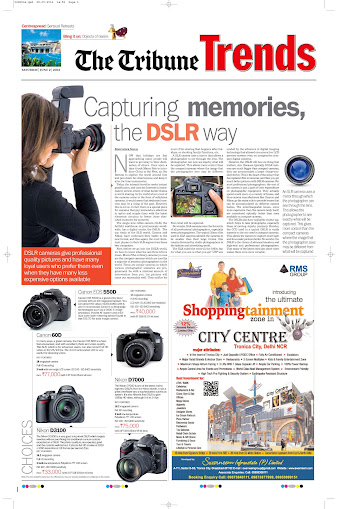 Capturing memories, the DSLR way