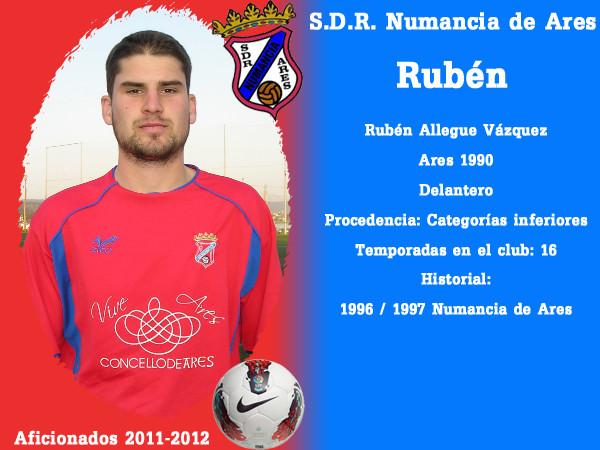 A.D.R. Numanciad de Ares. Rubén.