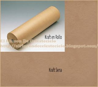 Rollo de papel kraft sena