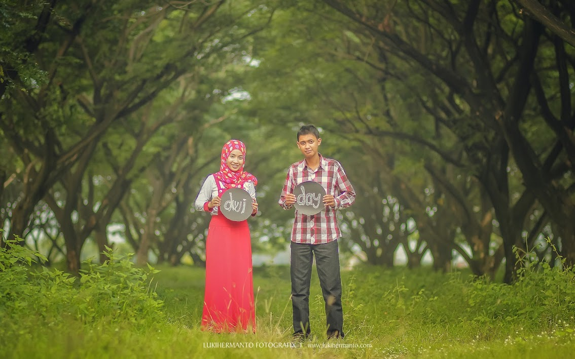 prewedding casual santai 2014