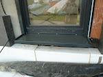 Eine Fensterbank an der Terrassentür???