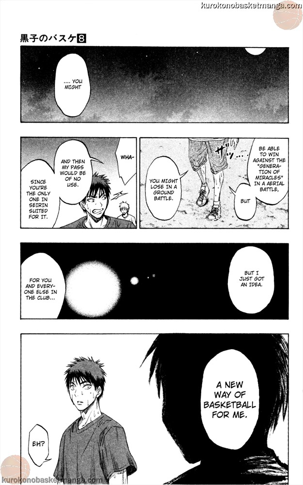 Kuroko no Basket Manga Chapter 62 - Image 19