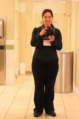 myself in a full-length mirror
