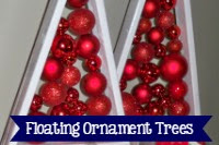 Floating Ornament Christmas Tree