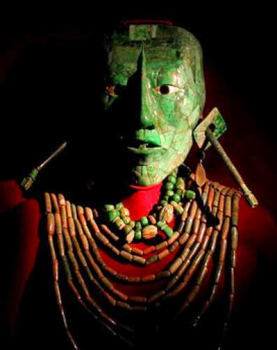 The Royal Stone Of The Maya