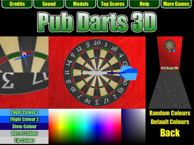 Pub Darts 3D - Select Darts