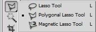 Opções da ferramenta Laço