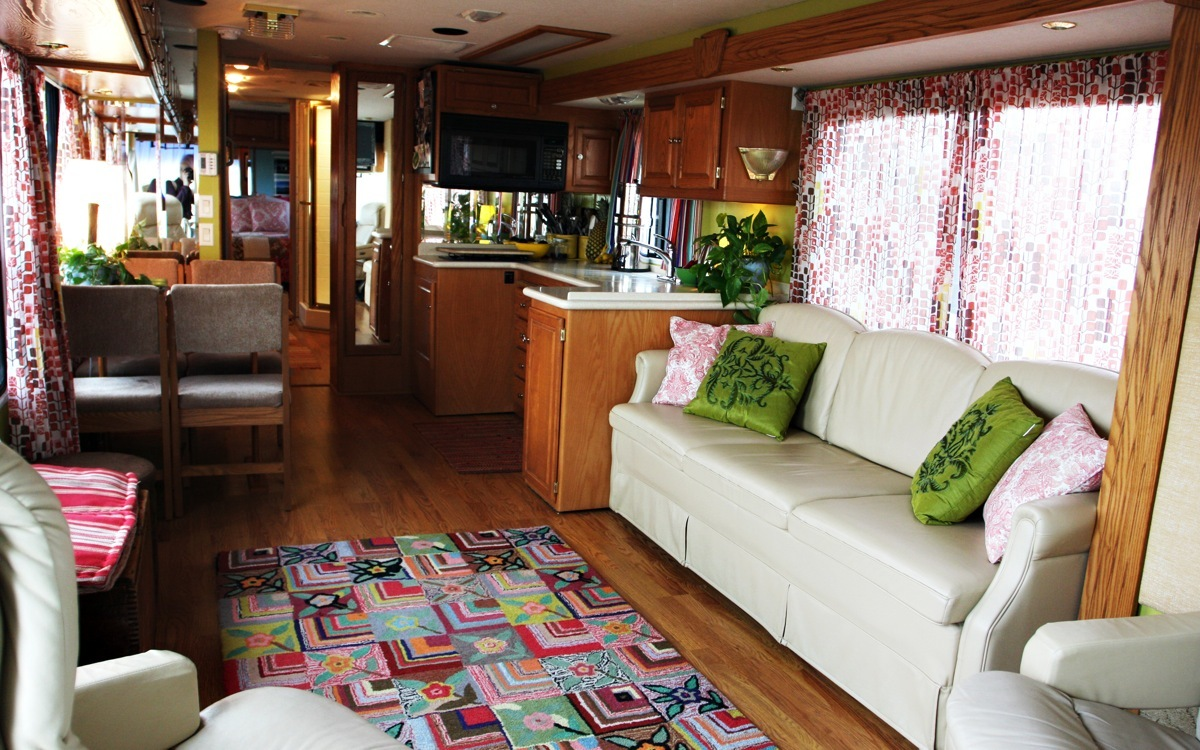 Diy rv interiors -  Beginner Beans Taking Home On The Road