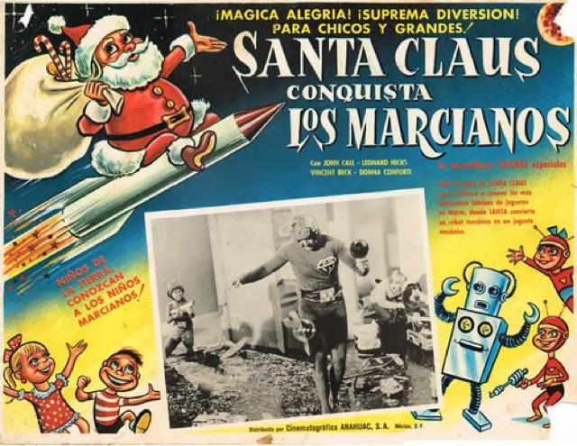 Rincón Misingno: Santa Claus conquista a los marcianos