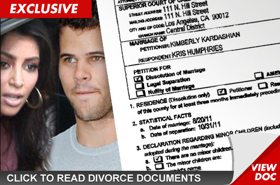 Fraud Kim Kardashian Divorce Kris Humphries