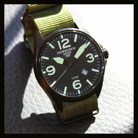 Torgoen T10 on NATO strap