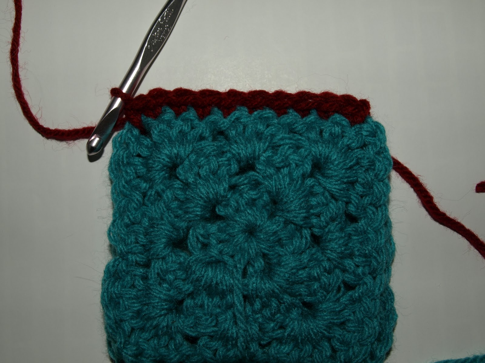 Crochet Join Stitch : CrochetByKarin: The Single Crochet Joining Stitch