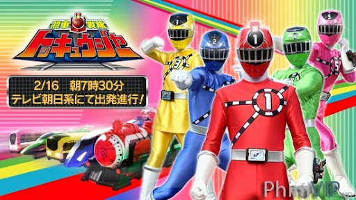 Siêu Nhân Đường Sắt - Ressha Sentai Toqger poster