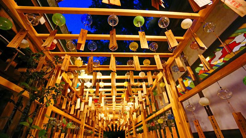 川越氷川神社 風鈴回廊 写真16