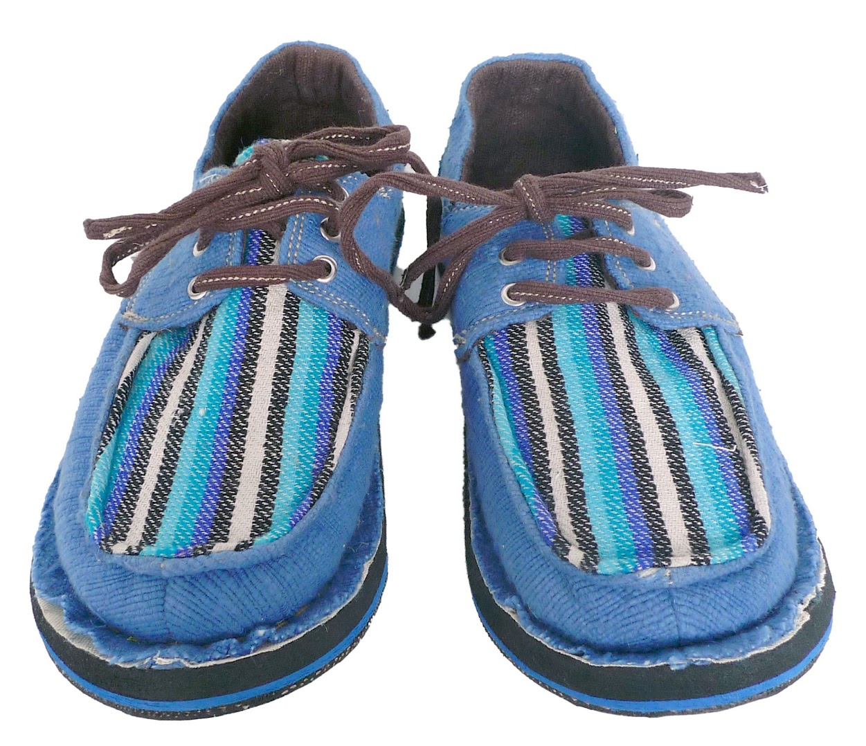 # soleRebels 非洲色彩圖騰帆船鞋:阿比西尼亞麻編織系列! 4