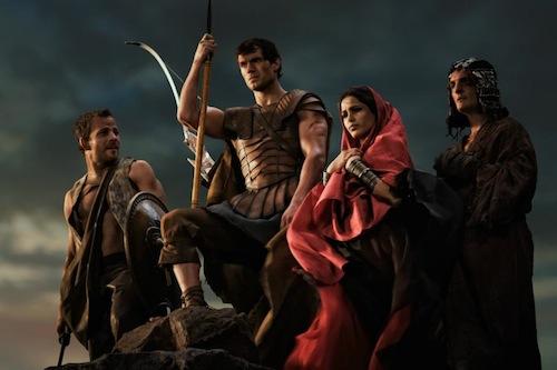 Stavros, Theseus, Phaedra & Nycomedes