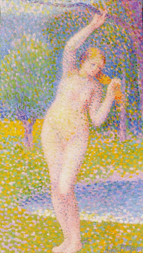 Hippolyte Petitjean - Standing Female Nude