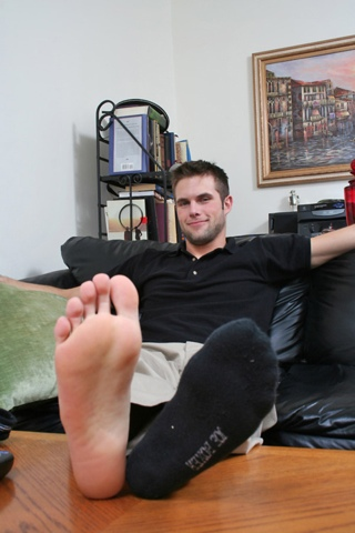 Gay male foot blogs my space