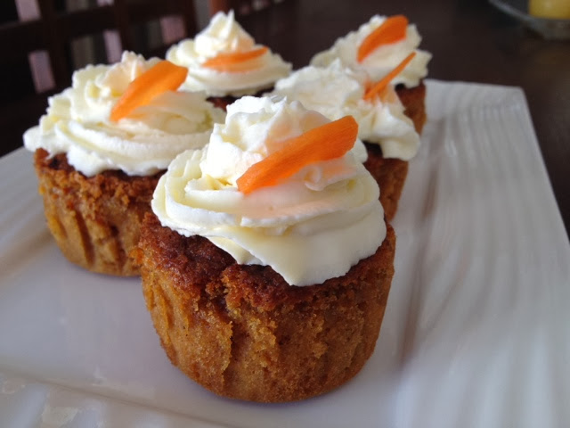 muffin de zanahoria sin gluten