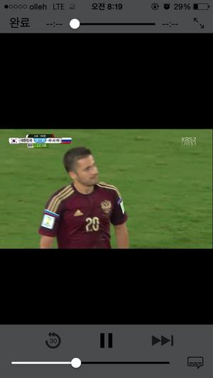 스마트폰 네이버 모바일 페이지로 월드컵 경기 보는 방법