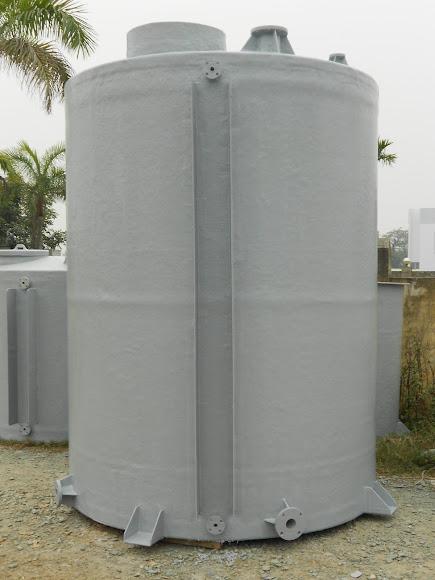 Bồn composite chứa axit