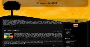 Orange Nightfall