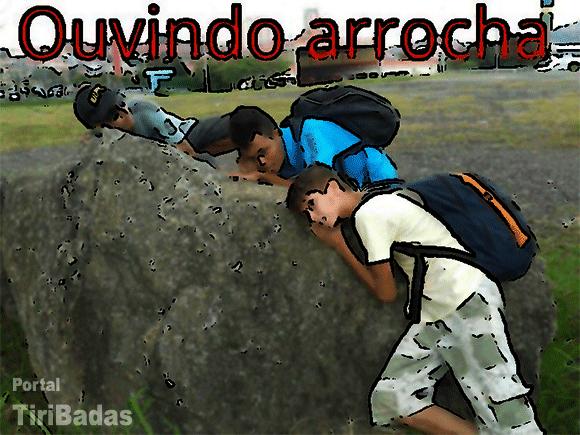 Ouvindo a rocha