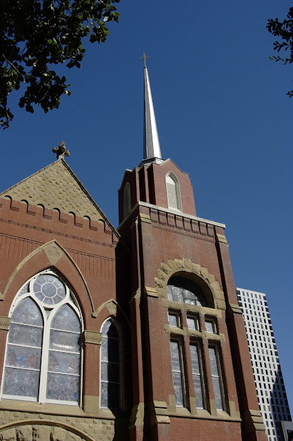 First Baptist Church of Dallas 1891 by Albert Ullrich