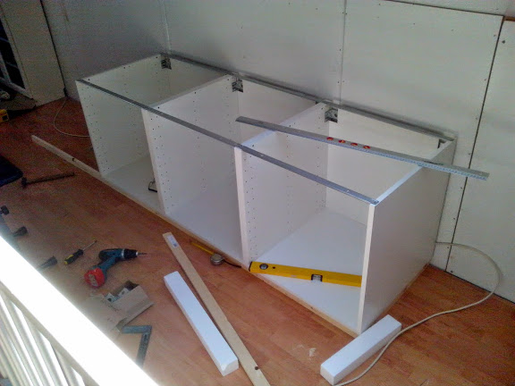 De Ikea keukenkastjes 60x60x60cm