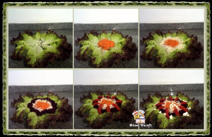 Salada crua com maionese de tangerina carioquinha 4