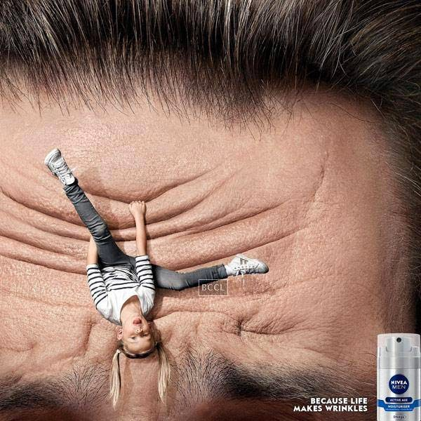 Nivea's 'Becase life makes wrinkles' is quite a hilarious take on wrinkles!