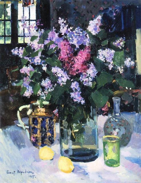 Konstantin Korovin - Lilac. 1915