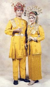 pakaian tradisional melayu Indragiri Riau pakaian adat nusantara melayu Pakaian Adat Tradisional Indonesia