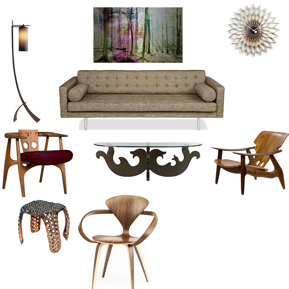 Eclectic touch for Furniture you put together