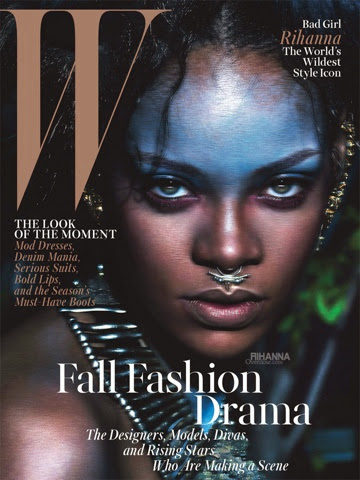 Rihanna for W Magazine September 2014