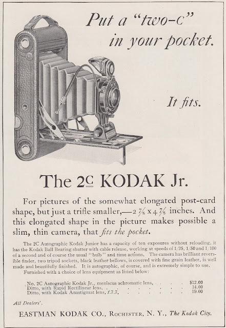 1920s Kodak 2c Jr