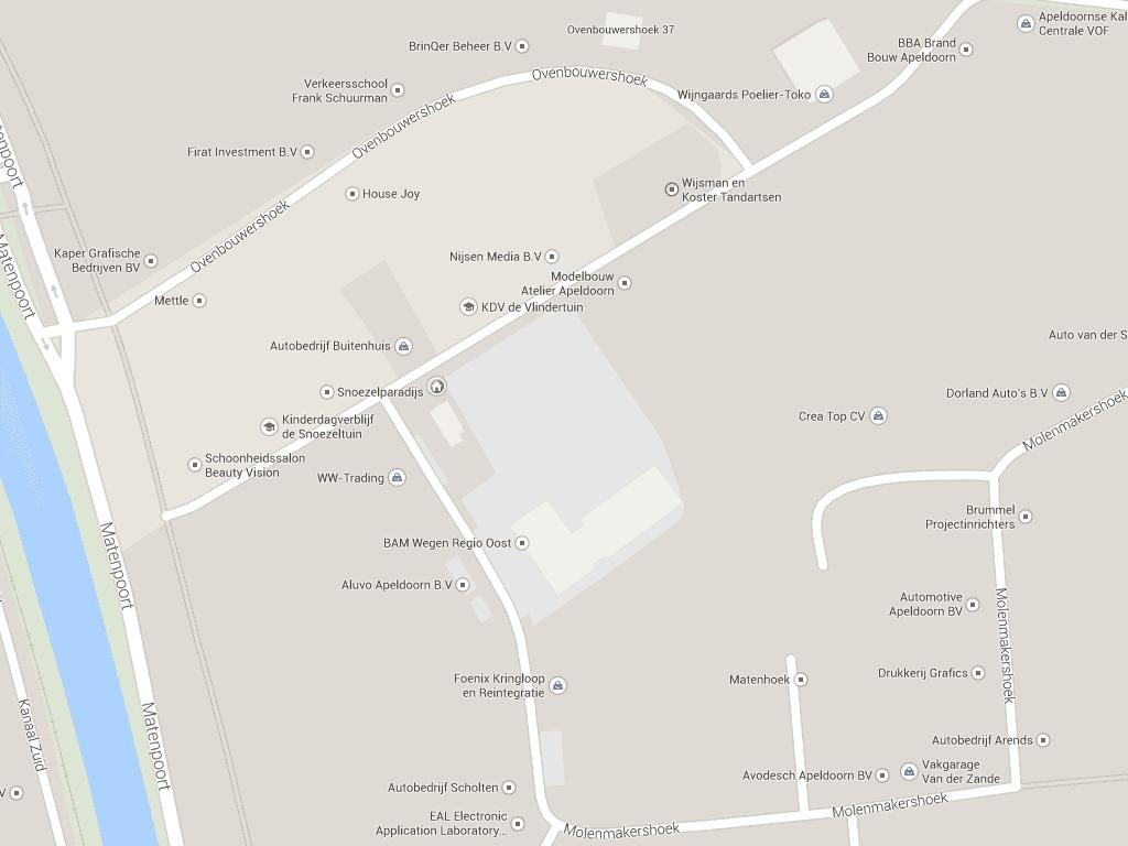 Matenhoek (Apeldoorn) op Google Maps