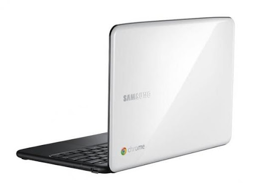 Samsung Chromebook - back
