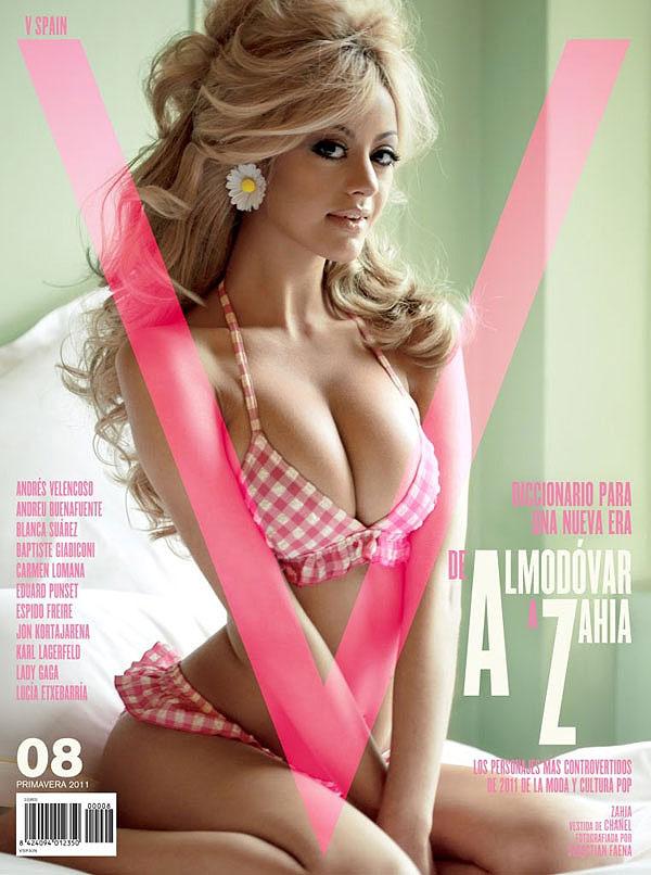 Zahia Dehar V magazine