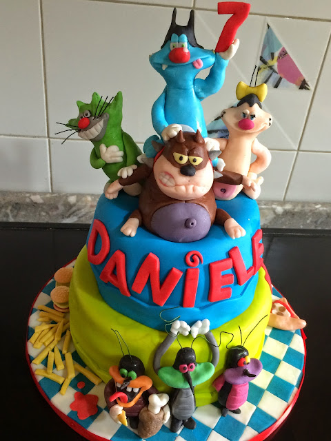Torta Compleanno Oggy E I Maledetti Scarafaggi.Pdpenz Ottobre 2014