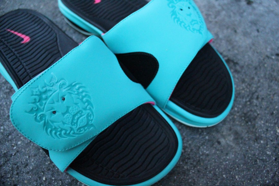 Nike Lebron Air Slide 8220south Beach8221 Available At