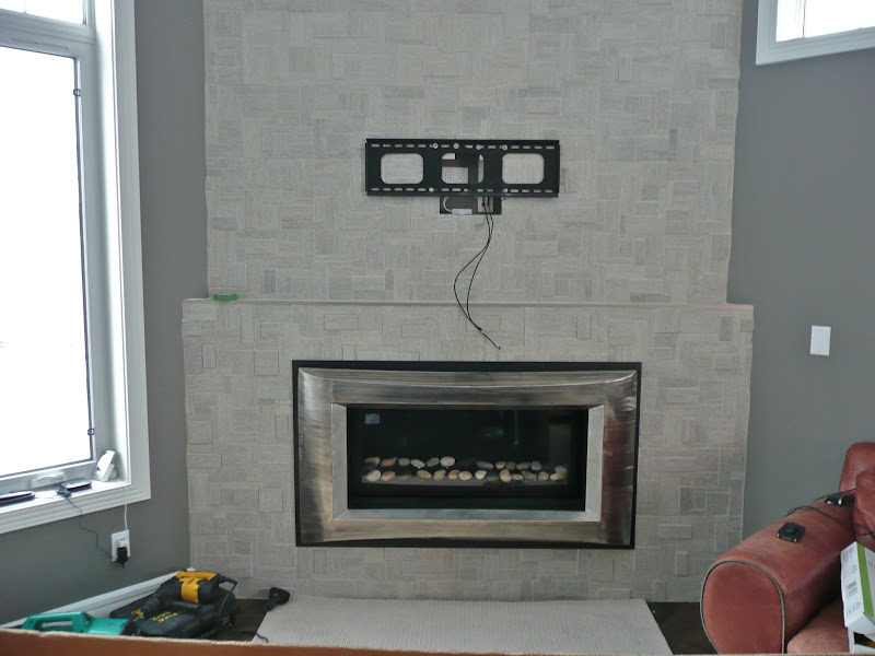 Challenging Fireplace and Kitchen TV Installs Tech Tips and Toys