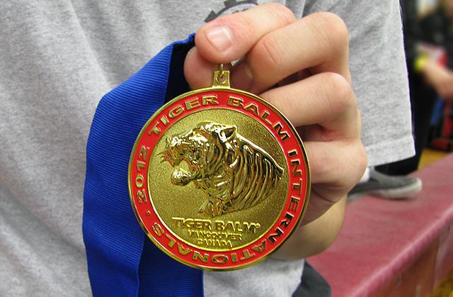 武術比賽分組比賽金牌