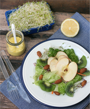 Thumbnail image for Almond Kiwi Alfalfa Salad