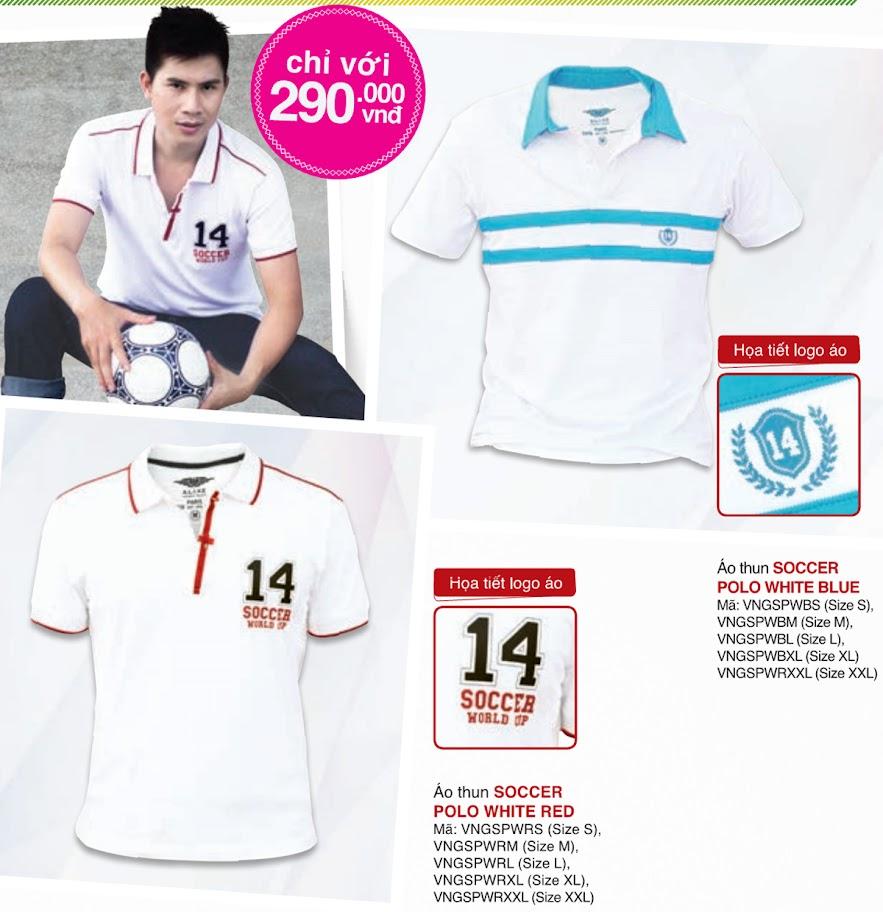Bộ sưu tập áo thun World Cup 2014